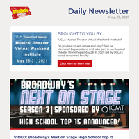 VIDEO: Broadway's Next on Stage High School Top 15 Announced- Watch Now!