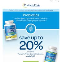 Help support gut health>>Save 20%