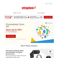 Up to 25% off Work From Home Tech