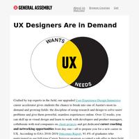 A phenomenal career path that blends design, psychology, + tech