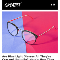 Are Blue Light Glasses All They're Cracked Up to Be? Here's How They Work