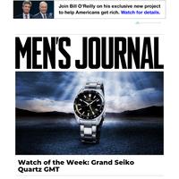 Watch of the Week: Grand Seiko Quartz GMT
