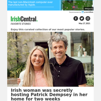 Irish woman was secretly hosting Patrick Dempsey in her home for two weeks