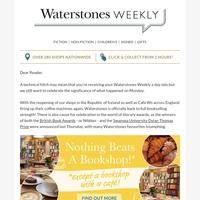 Your Waterstones Weekly