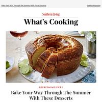 Dessert Recipes Everyone Should Bake This Summer