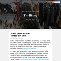 Thrifting: The thrill of the hunt