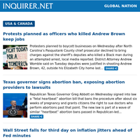 Global Nation: Filipino in Chicago lives after 'Covid-to-Covid' double lung transplant; Fil-Am teen shot dead in San Mateo, California; Anti-Asian hate crimes bill passes House, awaits signing by Biden