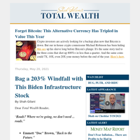 Bag a 203% Windfall with This Biden Infrastructure Stock