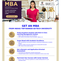 Work & Study from Home. Enroll for MBA (Distance) from NMIMS University