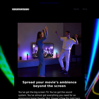 Bored no more. Govee's Flow Pro gives your home theater a luminous makeover