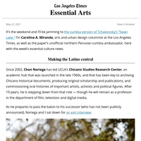 Essential Arts: Chicano representation? More has to change