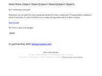 Lucrative online opportunities (Enclosed)