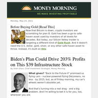 Biden could spark 203% gains on a $39 stock