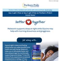 Better together: Melatonin + Glycine