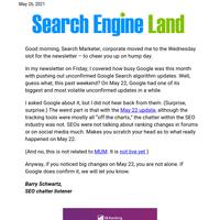 🔍 May 22 Google update was big, despite Google's being mum about it