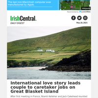 International love story leads couple to caretaker jobs on Great Blasket Island