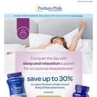 Sleep better with up to 30% off