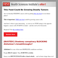 This Food Grows Cancerous Tumors - Do Not Eat It