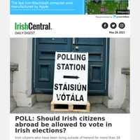 POLL: Should Irish citizens abroad be allowed to vote in Irish elections?