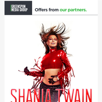 Win tickets to see Shania Twain at Zappos Theater at Planet Hollywood