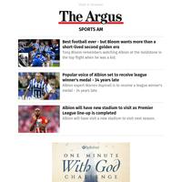 Sports AM: Best football ever - but Bloom wants more than a short-lived second golden era