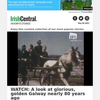 WATCH: A look at glorious, golden Galway nearly 80 years ago