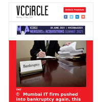 Mumbai infotech firm pops into bankruptcy again; Q&A with Kotak Investment Banking CEO; Manipal Hospitals eyes Bengaluru asset controlled by PE; Health supplements startup led by ex-BCG partner gets funding from Rukam Capital