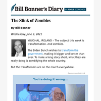 The stink of zombies