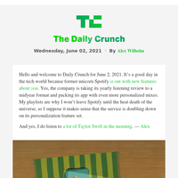 Daily Crunch - Spotify's new 'Only You' feature expands on personalization investment