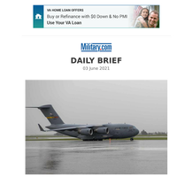 Daily Brief: C-17's 'Sightseeing Tour' Over Ireland That Drew Complaints from Locals Was Pre-Approved, Base Says