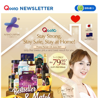 Mix any of your favourite supplements from Nano Japan from as low as RM79.95 each only!!