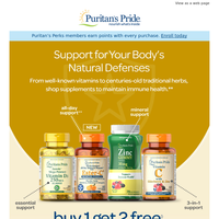 Buy 1, Get 2 on Immune Support