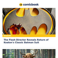 BREAKING: The Flash Director Reveals Return of Keaton's Classic BATMAN Suit