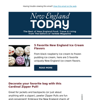 Strawberry Rhubarb Crisp, 5 Favorite New England Ice Cream Flavors & Best Drive-In Theater in Every State