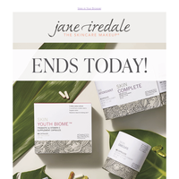 Last chance to save 15% on skincare supplements