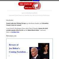 Michael Savage Says AOC, Bernie Sanders, Biden Be Warned!