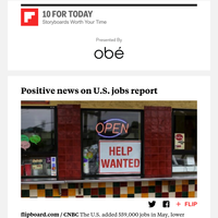 Is U.S. job market on the upswing?