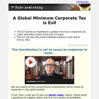 A Global Minimum Corporate Tax is Evil