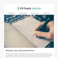 Tracking: Your most powerful tool