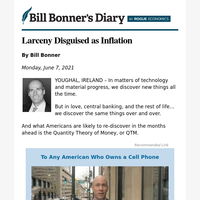 Larceny disguised as inflation