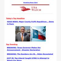 HUGE NEWS: Major County FLIPS Republican... Dems in Panic