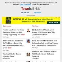 Townhall Daily - Jun 08 - Matt Vespa,Brad Slager,Derek Hunter,Dennis Prager,Todd Starnes and More