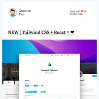 ❤️NEW React + Tailwind CSS Freebie and other Goodies!