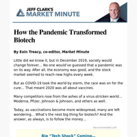 How the Pandemic Transformed Biotech