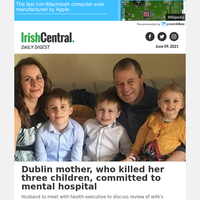 Dublin mother, who killed her three children, committed to mental hospital