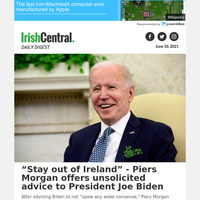 'Stay out of Ireland'- Piers Morgan offers unsolicited advice to President Joe Biden