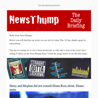 Your NewsThump Daily Briefing for Thu, 10 Jun