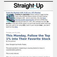 This Monday, Follow the Top 1% into Their Favorite Stock