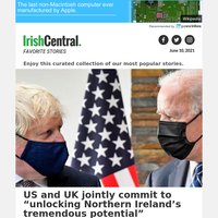 Good Friday Agreement: US and UK reaffirm commitment in joint statement