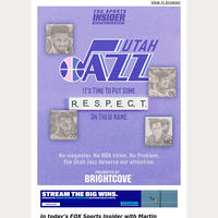 🗣️ Utah Jazz: It's Time To Put Some Respect On Their Name